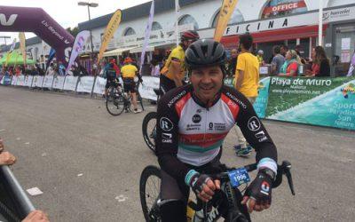 """Dr. González und Johannes Knabe meistern Spaniens größtes Jedermann-Radrennen """"Mallorca 312 km"""""""