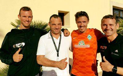 Bundesliga-Profi Max Kruse zur Reha bei Dr. González auf Mallorca